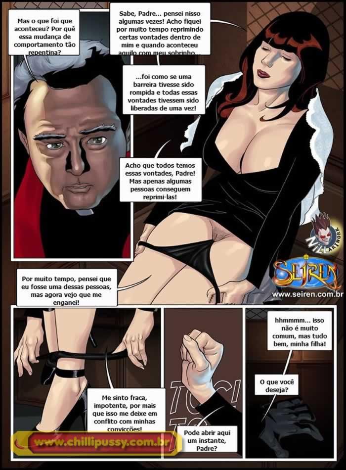 uns poucos pecados 2 - quadrinhos eroticos da seiren