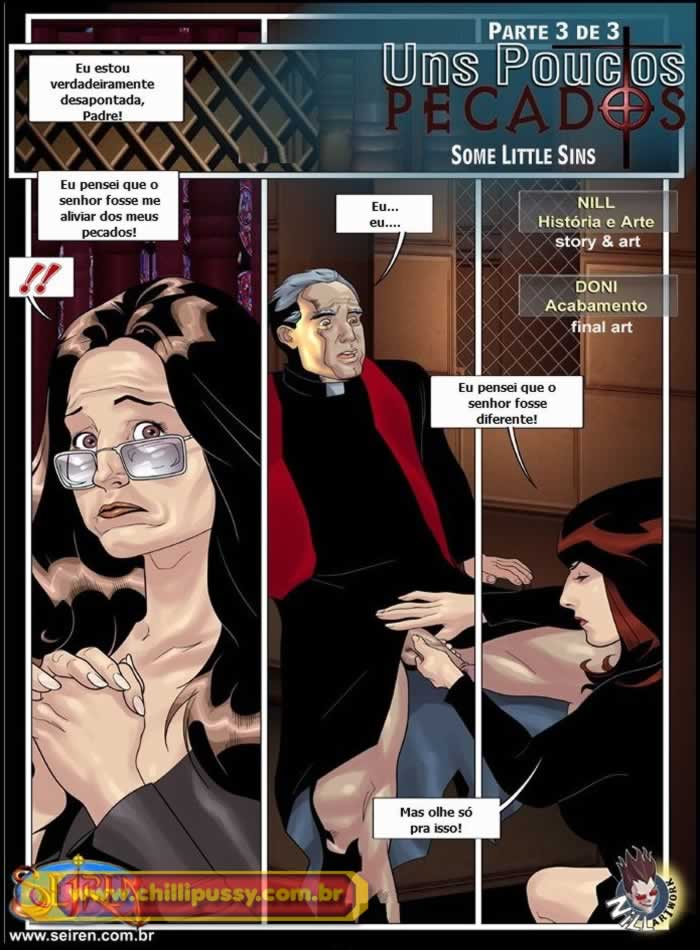 uns poucos pecados - quadrinhos eróticos da seiren